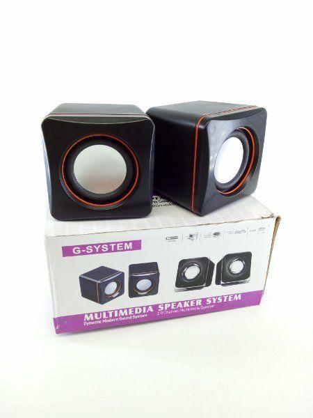 Mini Caixa de Som 2.0 Total de 5W RMS