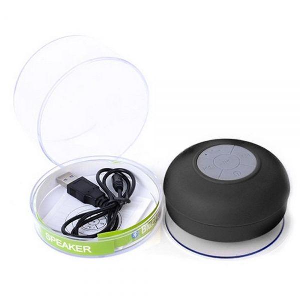 Mini Caixa De Som Bluetooth A Prova D'Agua - PRETA