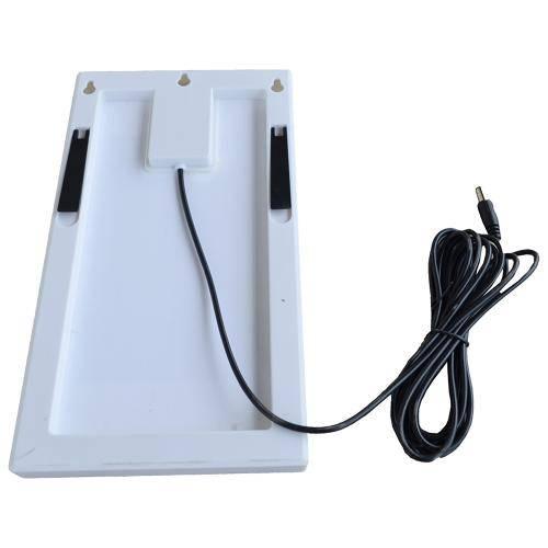 Painel Placa Solar Portátil 12v 3w Carregador Fotovoltaica
