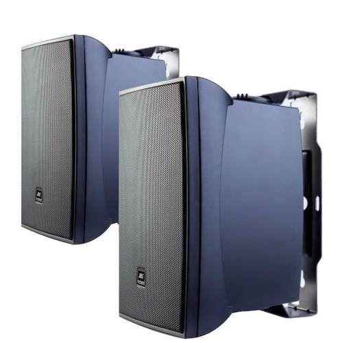 Par de Caixa Acústica Som Ambiente 30W C321P Preta JBL