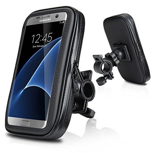Suporte de celular para moto e bicicleta impermeável  ate 6,5 polegadas