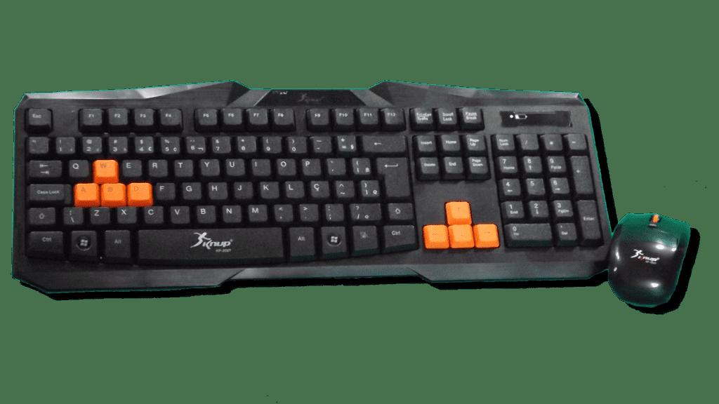 Taclado e Mouse Gamer - Knup Kp-2027