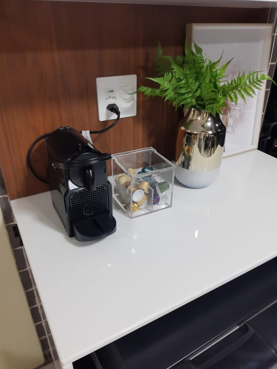 Caixa Individual Com Divisões Porta Capsulas de Café Universal