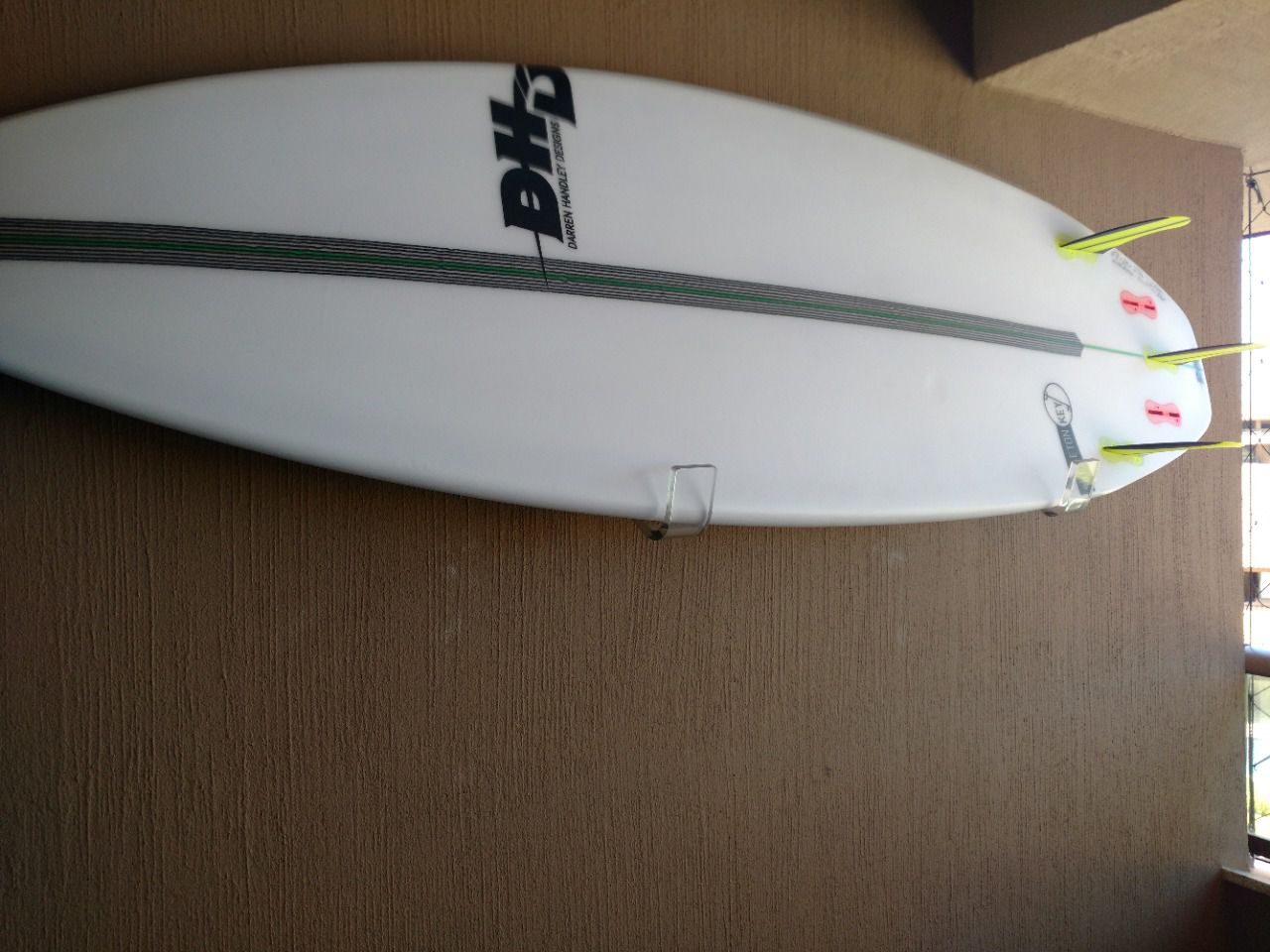 Suporte de Parede Prancha de Surf