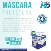 Mascara Descartavel N95