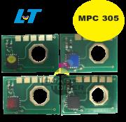 Chip para Toner Ricoh MPC 305-  Kit com as 4 Cores