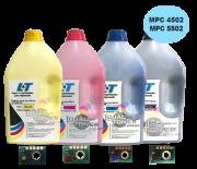 Kit Refil de Toner e Chip para Ricoh MPC 4502/ MPC  5502 - Compatíveis