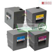Kit Cartucho de Toner Ricoh MPC 6502|Ricoh MPC 8002 CYMK Original - 841780|841781|841782|841783