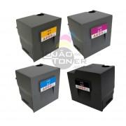 Kit Cartucho de Toner Ricoh MPC 6503|Ricoh MPC 8003 CYMK Original - 842196|842197|842198|842199 - Original