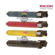 Kit de Cartucho de Toner Ricoh  MPC 4502|Ricoh MPC 5502 - CYMK (841451|84172|841753|841754)