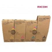 Kit de Cartucho de Toner Ricoh Pro C 700|Toner Ricoh Pro C550 - CYMK - 4 Cores - Original