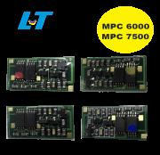 Kit  de Chip para Toner  Ricoh MPC 6000 / Ricoh  MPC 7500  ( 4 Cores )