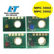 Kit de Chip Ricoh MPC 3002/ MPC 3502 - Kit com as 4 Cores