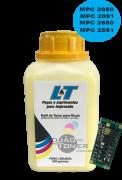 Kit para Recarga com Refil de Toner  e Chip Ricoh Ricoh MPC 2030/2050/2050/2550/2551 - Yellow