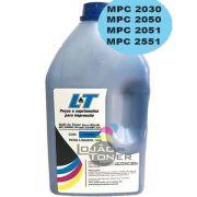 Refil de Toner  Ricoh MPC 2030/ MPC  2050/ MPC  2051/MPC 2550/MPC 2551-  Cor Cyan 1Kg