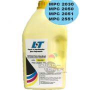 Refil de Toner  Ricoh MPC 2030/ MPC 2050/ MPC 2051/MPC 2550/MPC 2551-  Cor Yellow 1Kg