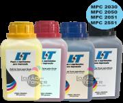 Refil de Toner  Ricoh MPC 2050/ MPC 2051/ MPC 2550 / MPC 2551-  Kit com as 4 Cores - 200 Gramas cada