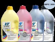 Refil de Toner  Ricoh MPC 305 - Kit com as 4 cores - 1 Kg cada cor