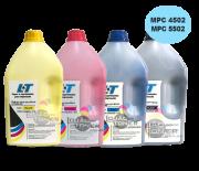 Refil de Toner Ricoh MPC 4502 / MPC 5502 - Kit com as 4 cores - 1 Kg cada cor