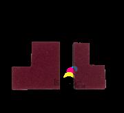 Selo Traseiro do Cilindro Ricoh Afício 1060/1075/2060/2075 (A2943572 / AA152431) - Par de Selos Compatíveis