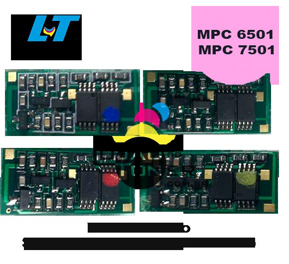 Chip para Toner  Ricoh MPC 6501 |Ricoh  MPC 7501  - Unitário