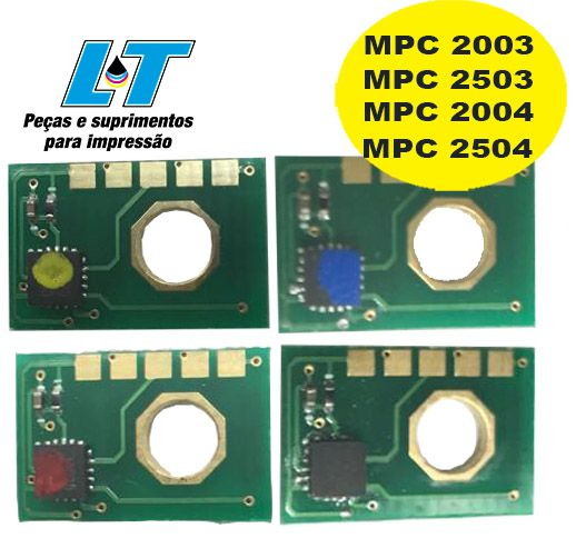 Chip Ricoh MPC 2003/ MPC 2503/ MPC 2004/ MPC 2504 - Compatível