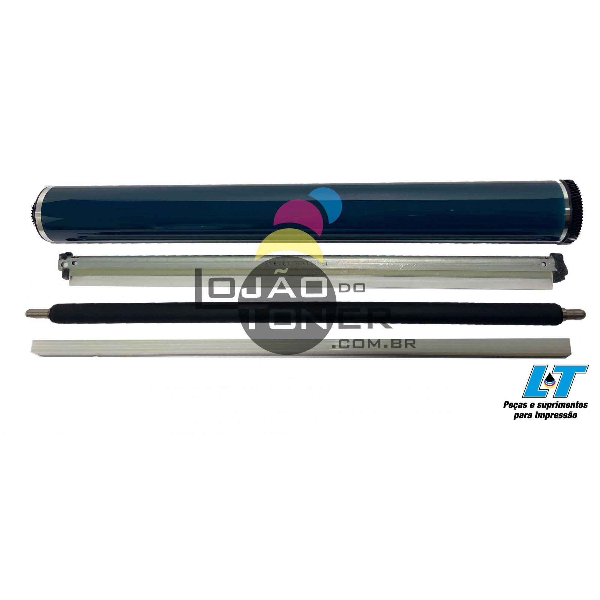 Cilindro, Lâmina, Rolo de Carga e Barra de Lubrificação Ricoh MPC 3002 /MPC  3502/MPC  4502/MPC  5502 - Compatíveis