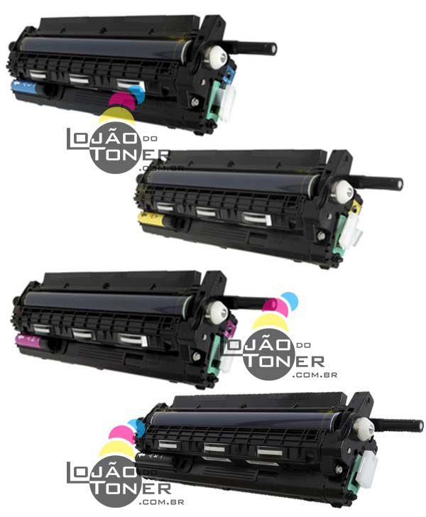 Conjunto de Unidade de Imagem Completa Ricoh SPC 430|SPC 431|SPC  435|SPC  440 - 4 Cores - 408018|406662|407019|406663