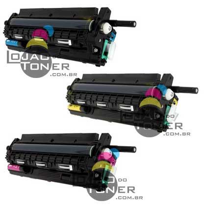 Conjunto de Unidade de Imagem Completa Ricoh SPC 430 SPC 431 SPC  435 SPC  440 - Coloridas - 407019 406663 - Original