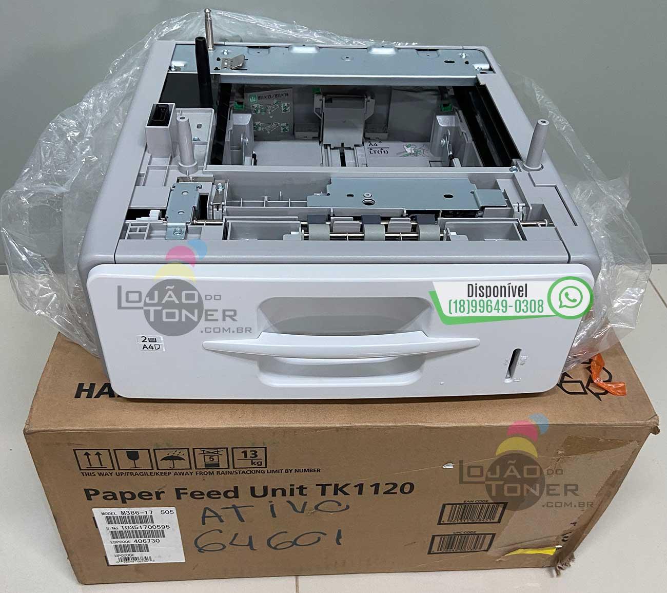 Gaveta do Papel Ricoh SP 5200 / Ricoh SP 5210 (406730) (Gaveta 1 - Unidade de Alimentação do Papel) Original
