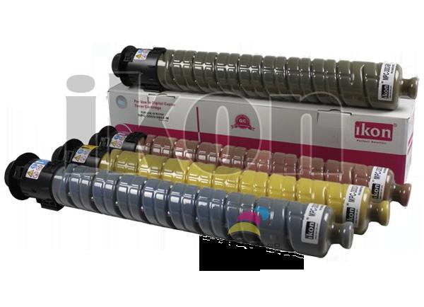 Kit Cartucho de Toner Ricoh MPC 3003/ MPC 3004/ MPC 3503 – CMYK Compatível