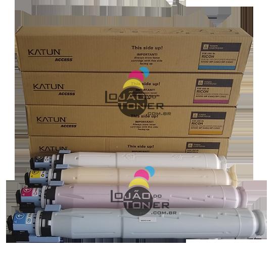 Kit de Cartucho de Toner Ricoh MPC 3002|MPC 3502 - Compatível CYMK