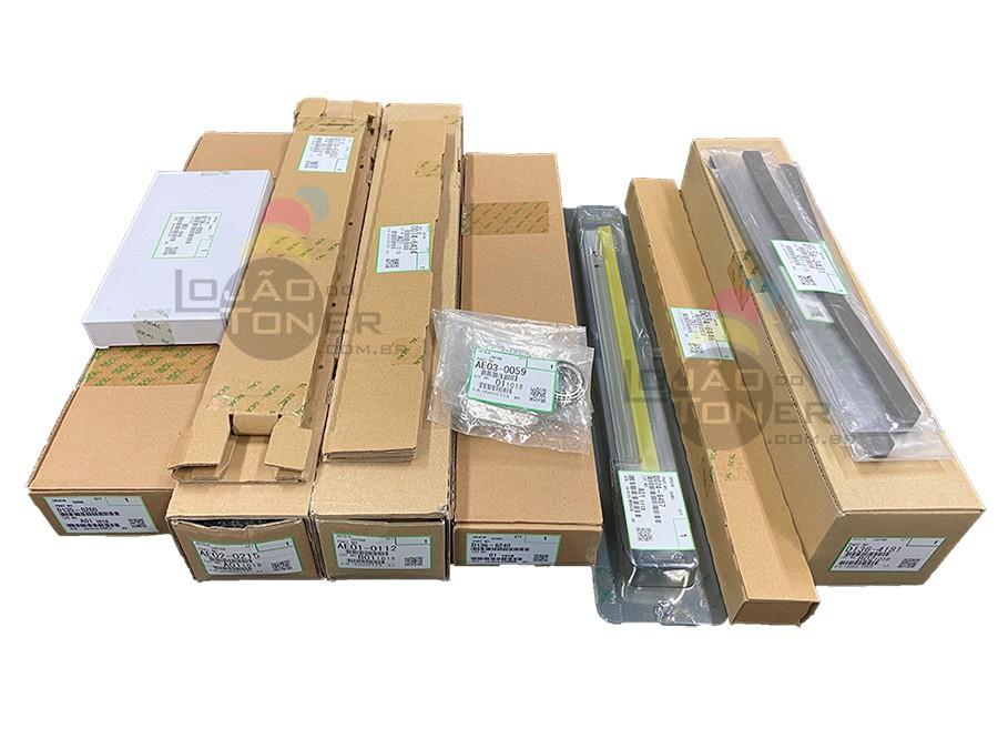 Kit de Manutenção Ricoh MPC 6502   Ricoh MPC 8002 PMD136600K (AE010112  AE020215 AE020059  D0746424  D0746446 D0746450  D0746457  D1356260  D1363431 D1364181 D1366240 D1366935) Original