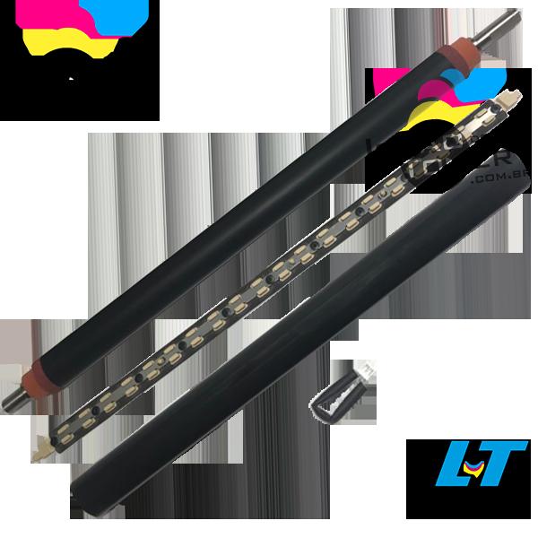 Kit de Reconstrução da Fusão Ricoh MPC 3002 /MPC 3502 / MPC 4502/ MPC 5502 com Película, Barra de Lubrificação, Fusível e Rolo de Pressão