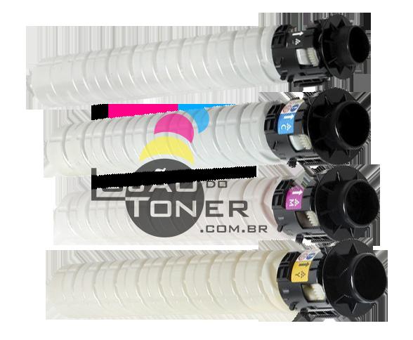 Kit de Toner Ricoh MPC 2003/ MPC 2503/ MPC 2004/ MPC 2504 – CYMK Original