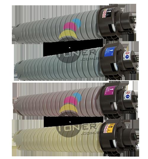 Kit de Toner Ricoh Pro C 901 – Original 4 Cores
