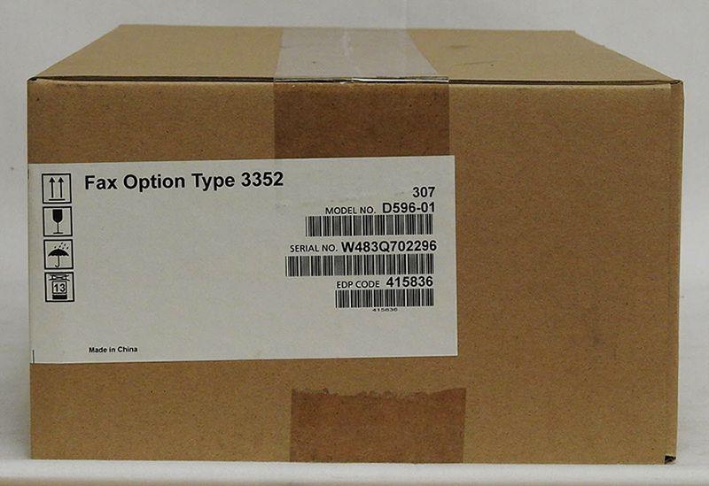 Placa de Fax Ricoh MP 2352| Ricoh MP 2852 | Ricoh MP 3352 - Fax Type 3352 ( D596-01 - 415836)