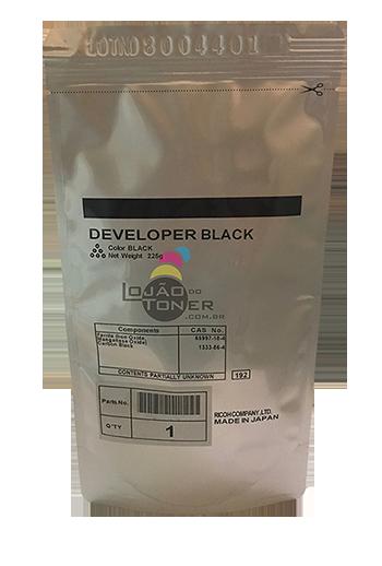 Revelador Ricoh MPC 2050/ MPC 2550/ MPC 2051/ MPC 2551 cor Black Original Ricoh
