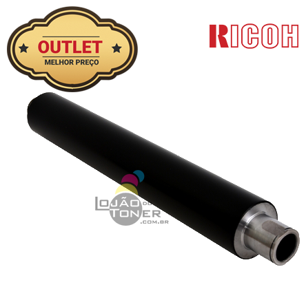 Rolo de Fusão Ricoh Aficio 1060|Aficio 1075|Ricoh MP 9001|MP 9002 - AE01-1044 - Original