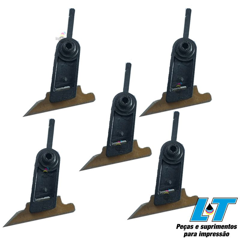 Rolo e Unhas da Fusão Ricoh MP 1100 / Ricoh MP 1350 / Ricoh  MP 9000 / Pro 1106 / Pro 1107/ Pro 1356/ Pro 1357/ Pro 906/ Pro 907 7 (AE011108 / AE011110 / AE044067) Compatíveis
