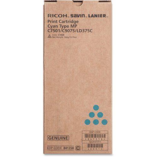 Toner Ricoh MPC 6501/ Ricoh MPC 7501 - Cyan - Original (841358)