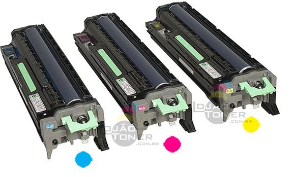 Unidade de Imagem Ricoh  SPC 830 Ricoh SPC 831 - Color 407096 - Unidade de Cilindro SPC 830 (Cyan  Yellow   Magenta)