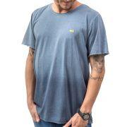 Camiseta Gradient Relax Estonada Degradê