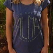 T-shirt Stone Alma Lavada