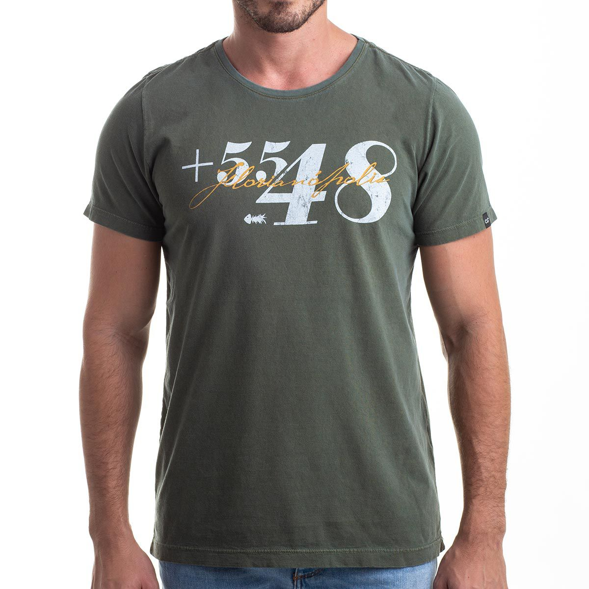 Camiseta Area Code +5548 Estonada
