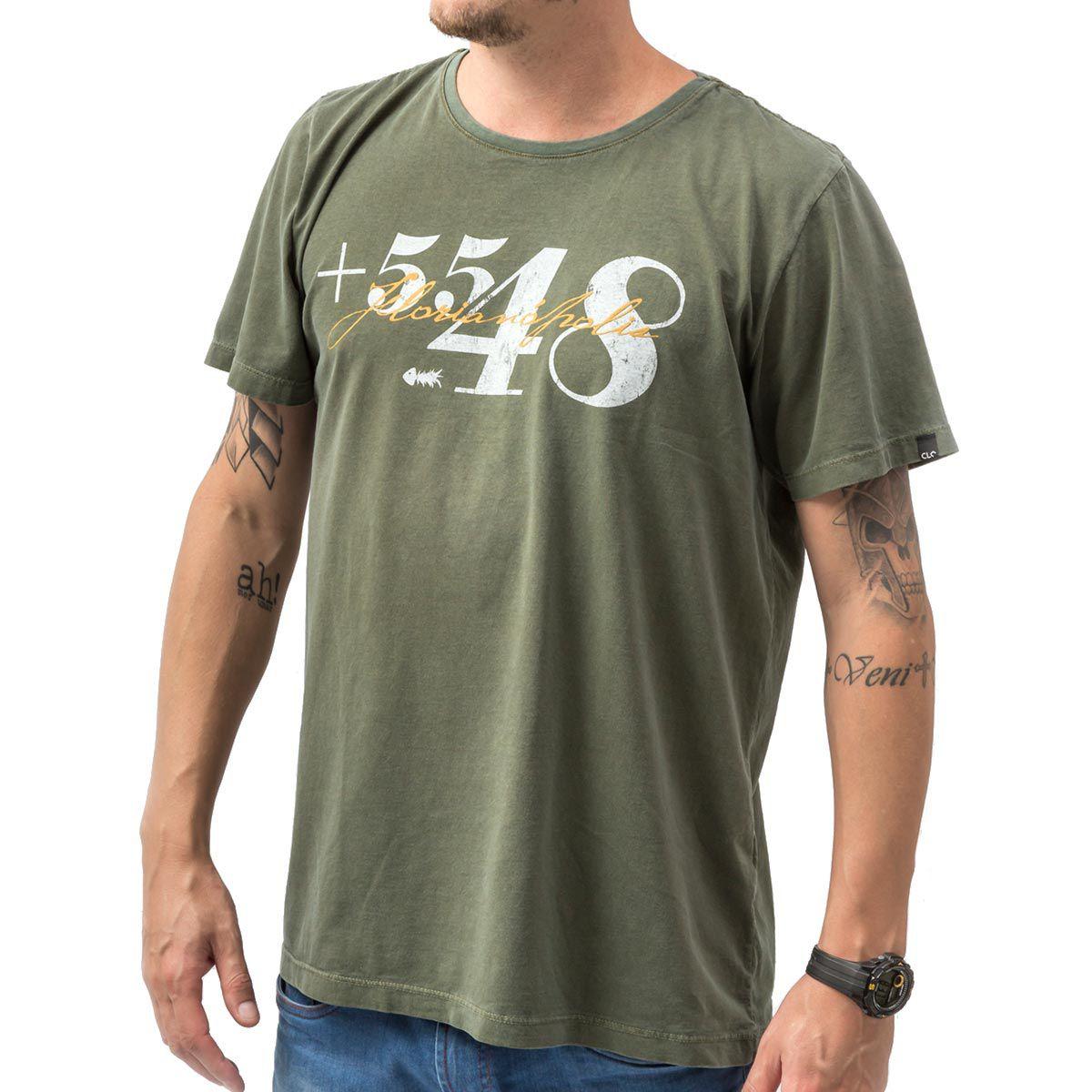 Camiseta Area Code +5548 Estonada