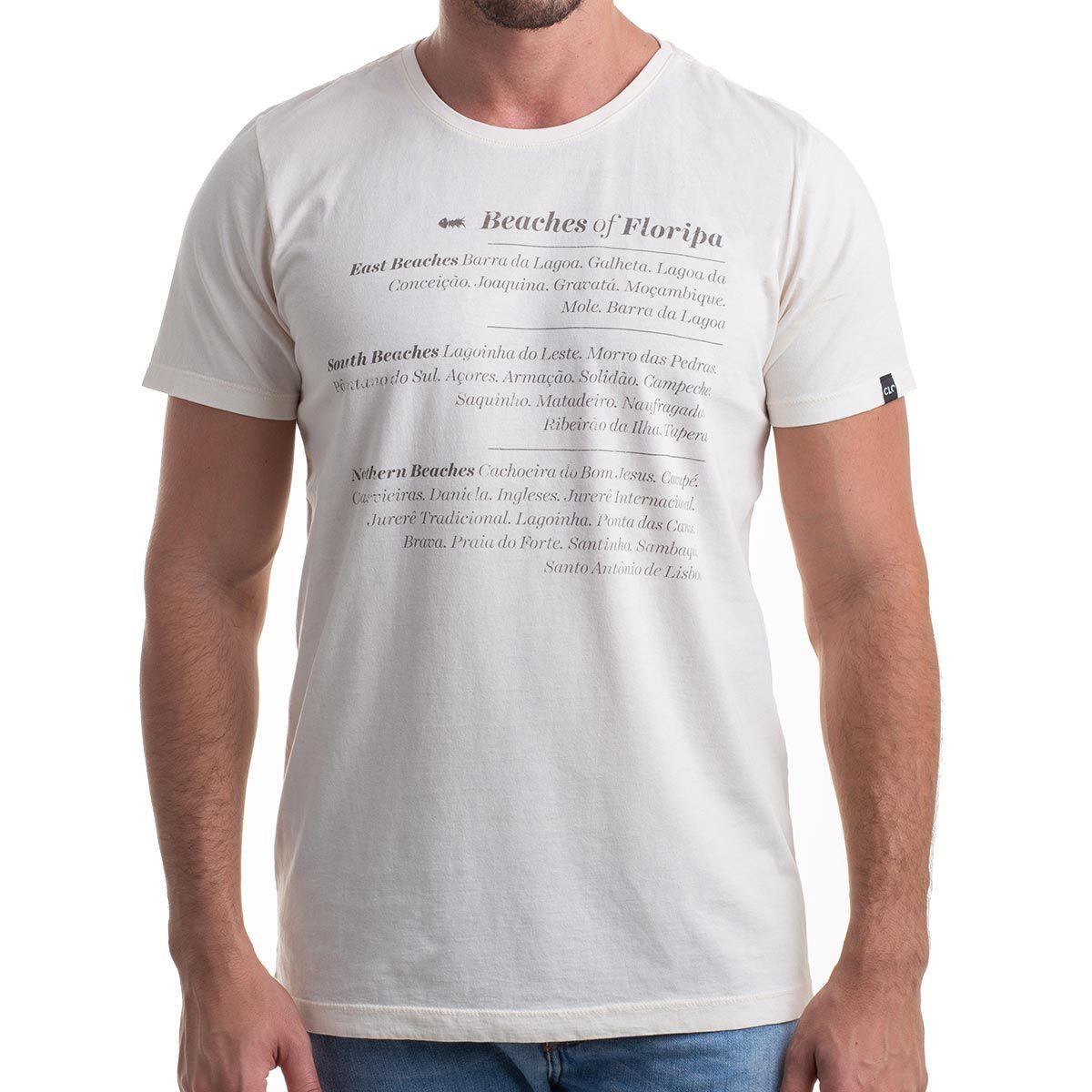 Camiseta Beaches of Floripa Estonada