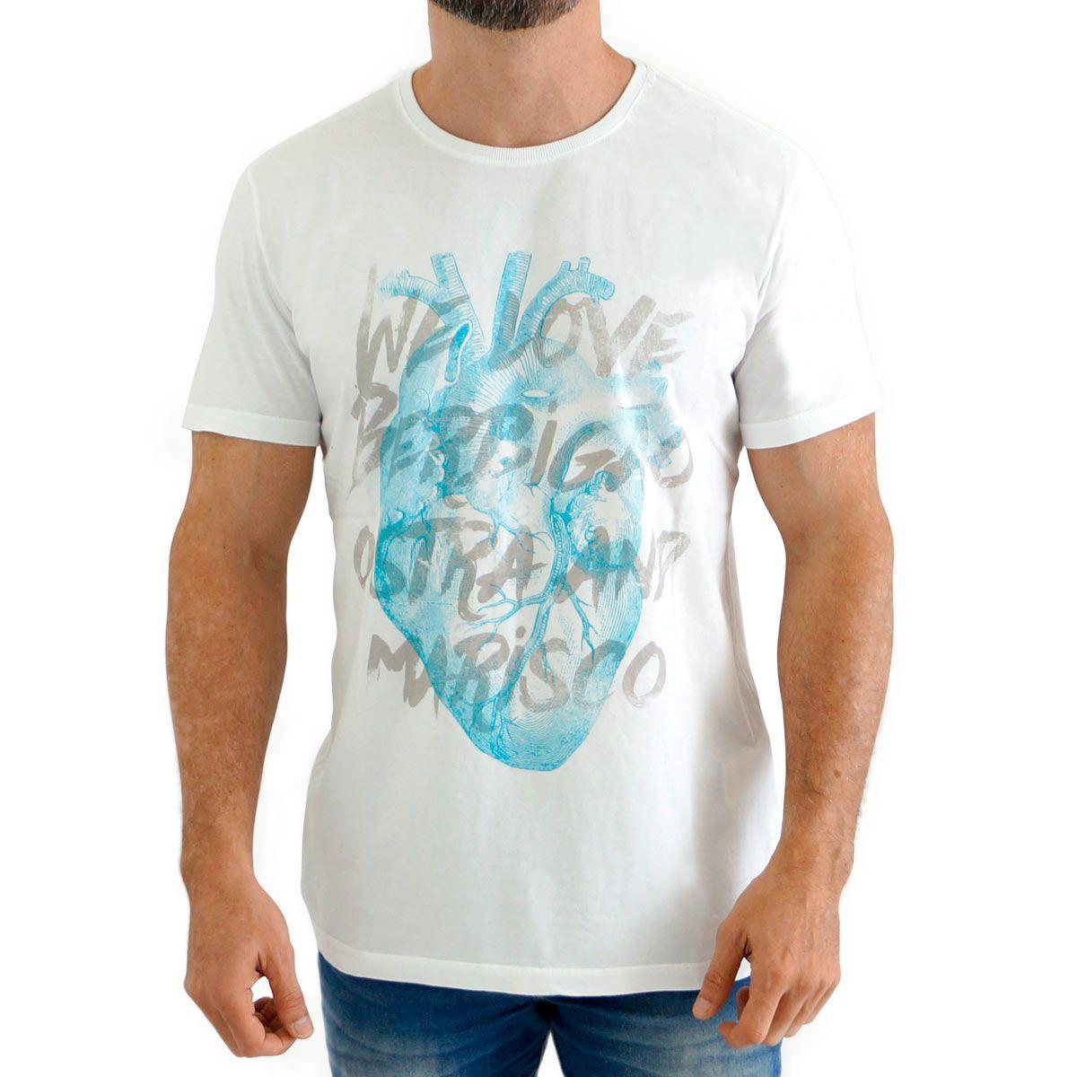 Camiseta We Love Berbigão, Ostra and Marisco