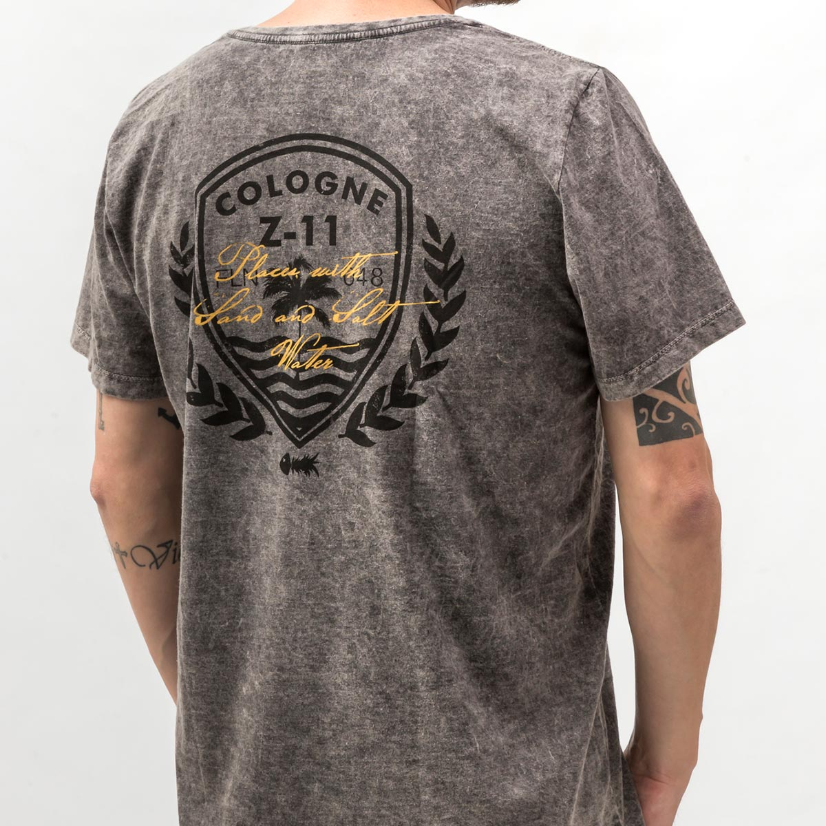 Camiseta Cologne Z-11 Marmorizada