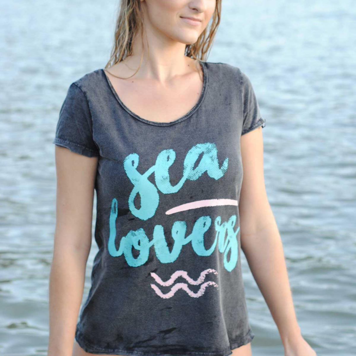 T-shirt Marble Sea Lovers